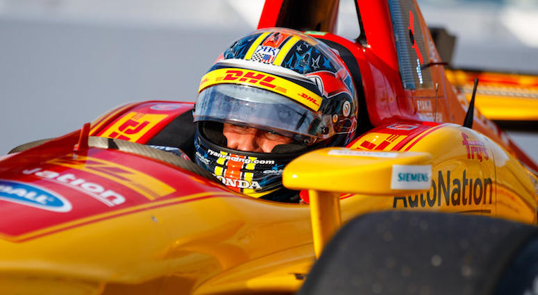 Ryan Hunter-Reay No. 28 DHL Honda