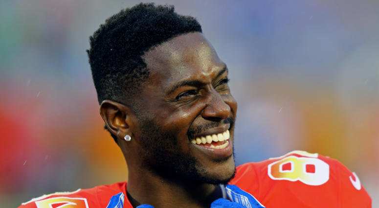 Antonio Brown at Pro Bowl
