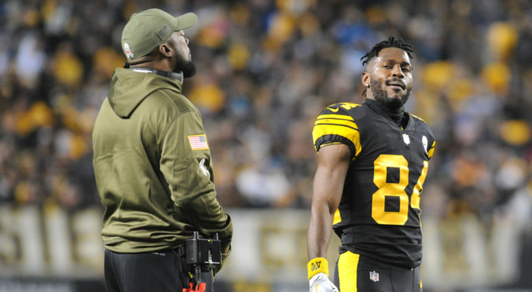Mike Tomlin & Antonio Brown