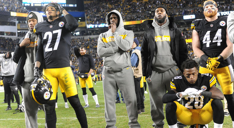 Steelers watch as season ends