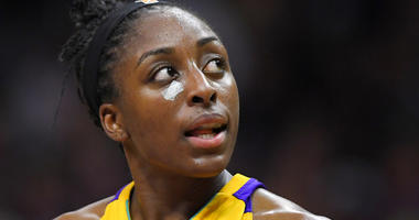Los Angeles Sparks forward Nneka Ogwumike
