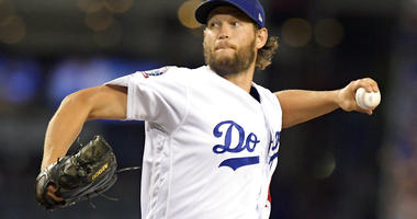Los Angeles Dodgers starting pitcher Clayton Kershaw