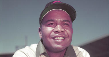 Cleveland Indians' Larry Doby
