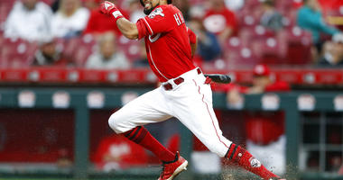 Cincinnati Reds' Billy Hamilton