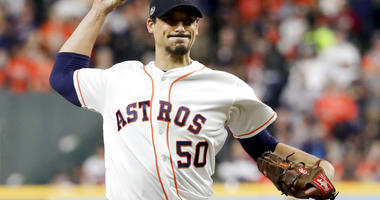 Houston Astros starting pitcher Charlie Morton
