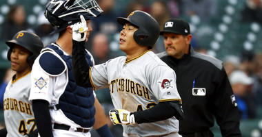 Marte's homer lifts Pirates over Tigers 5-3