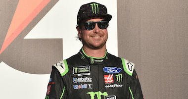 Stewart Haas Racing's Kurt Busch Edges Teammates To Win Talladega Pole Position