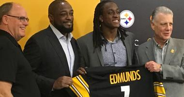 Terrell Edmunds Kevin Colbert Art Rooney Mike Tomlin