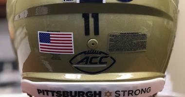 Pitt Football To Wear Special Decal Honoring Synagogue Shooting Victims