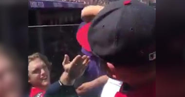 St. Louis Cardinals' Harrison Bader Accepts Tater Tot from 5-Year-Old Fan During Game
