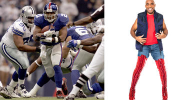 New York Giants' Tiki Barber To Make Broadway History