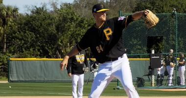 The Big Man Looks To Impress At Pirates Camp
