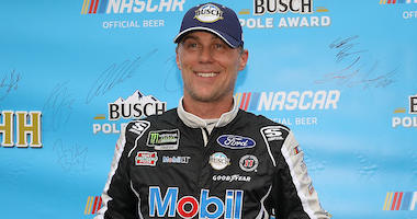 Kevin Harvick Wins NASCAR Richmond Pole Position