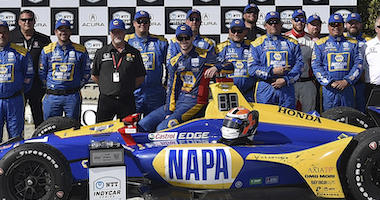 Alexander Rossi And Andretti Autosport Win IndyCar Grand Prix Of Long Beach
