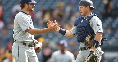 Padres squeeze out 8-5 win, take 3 of 4 from Pirates