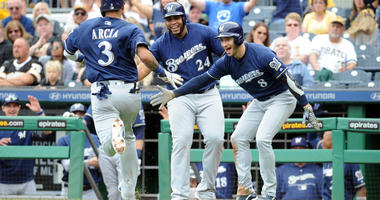 Brewers Cruise Past Pirates, Move Closer To Playoff Berth