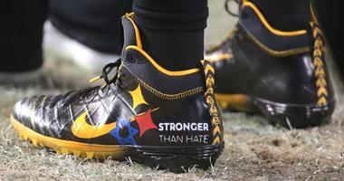 Roethlisberger Says 'Stronger Than Hate' Cleats A Way To Honor, Remember And Think About The Victims
