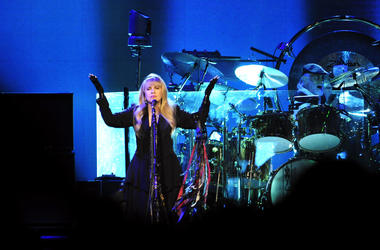 Fleetwood Mac performs at Bridgestone Arena