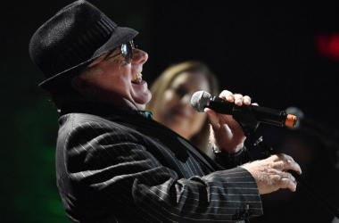 Van Morrison performs after accepting the Lifetime Achievement Award, Songwriting during the Americana Music Honors & Awards at the Ryman Auditorium.