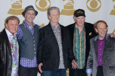 Bruce Johnston, David Marks, Brian Wilson, Mike Love and Al Jardine of The Beach Boys - 12 February 2012, Los Angeles, CA - 54th Annual GRAMMY Awards press room held at the Staples Center.