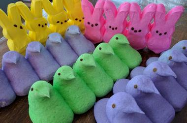 Peeps, Easter candy, marshmallow candy