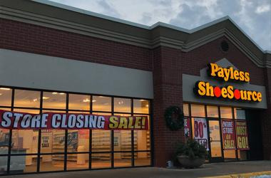 Payless Shoe Source closed in Darboy 2018 Out 1