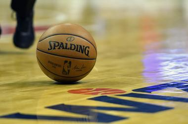 Jan 2, 2019; Washington, DC, USA; General view of ball on the court during the third quarter of the game between the Washington Wizards and the Atlanta Hawks at Capital One Arena.