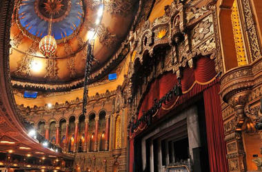 Inside the Fabulous Fox Theatre in St. Louis