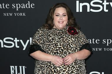 Chrissy Metz at the 4th Annual InStyle Awards at The Getty Center on October 22, 2018 in Los Angeles, California.