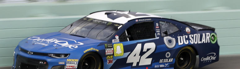 The Latest: Kyle Larson wins 2nd stage of championship race