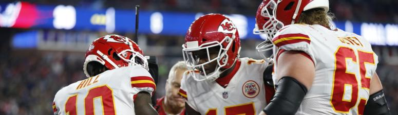 Chiefs fight hard in Foxborough, come up short in tough loss