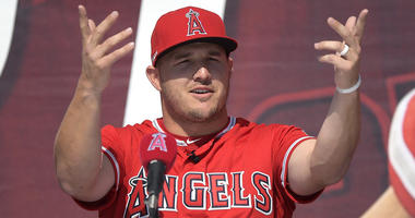 "Mike Trout says he's ""an Angel for life"" with new contract"