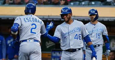 The Royals are tied for 2nd in 1st inning runs scored