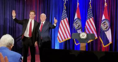Vice President Pence is excited about the Missouri Senate race