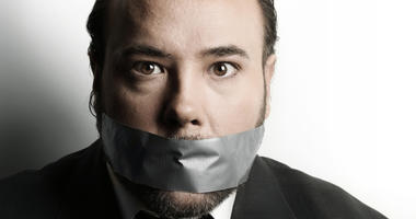 Don't tell me to shut up just because I'm a man