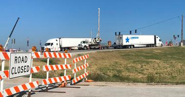 Weekend construction on I-70 to slow traffic east of Kansas City