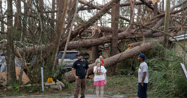 The Latest: Michael drenches the Carolinas as tropical storm
