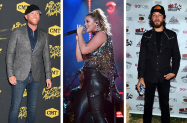 Cole Swindell, Lauren Alaina and Chris Janson