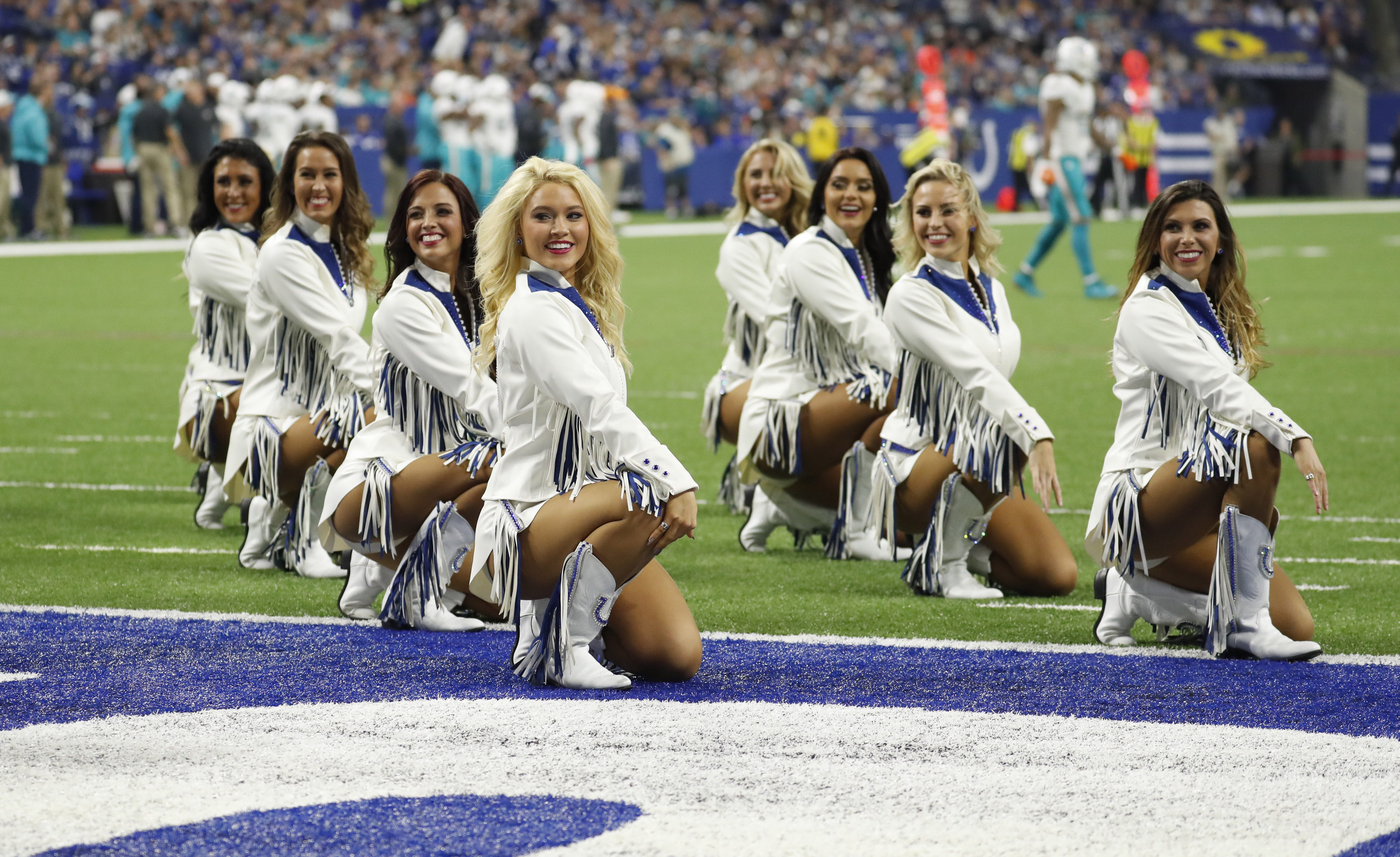 NFL Colts Cheerleader Uniforms Are Conservative, Less ...
