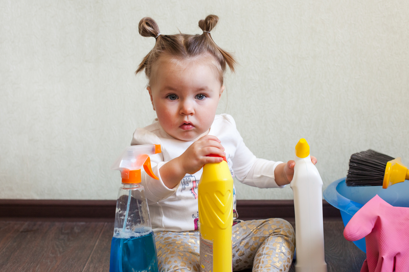 Is your child safe from household poisons?