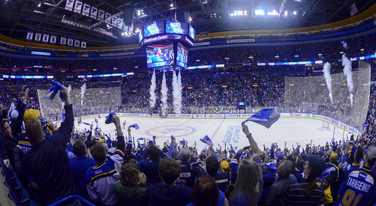 St Louis Blues at Scottrade Center Section 314 View ...