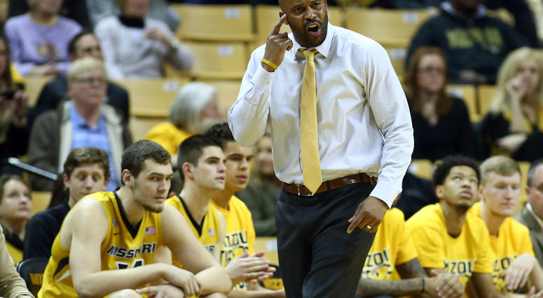 Missouri Tigers head coach Cuonzo Martin