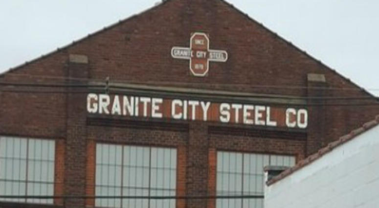 Granite City Steel building in Illinois