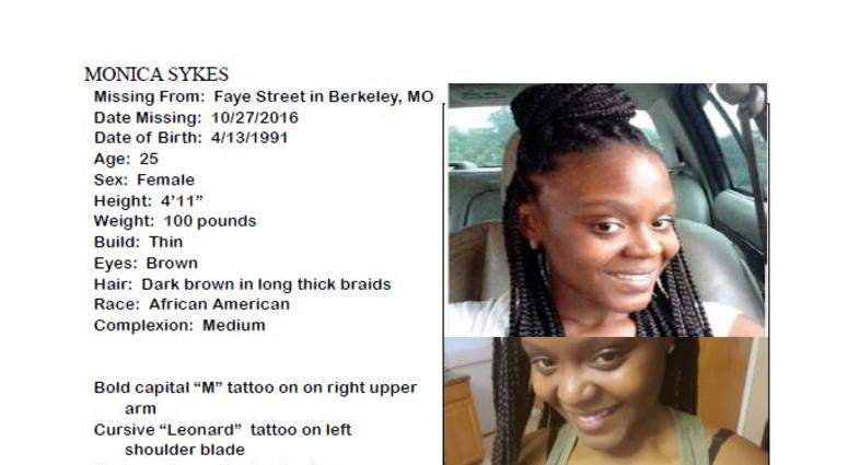 monica sykes missing poster