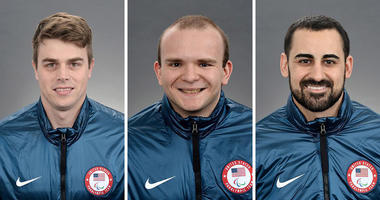 Billy Hanning, Josh Pauls & Steve Cash (Courtesy: USA Hockey)