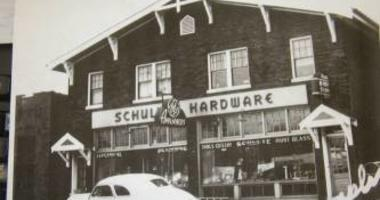 Vintage photo of Schulte Hardware