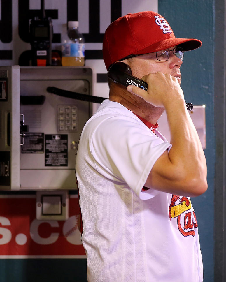 St. Louis Cardinals bench coach Mike Shildt