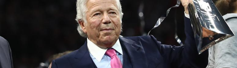 New England Patriots owner Robert Kraft charged with prostitution