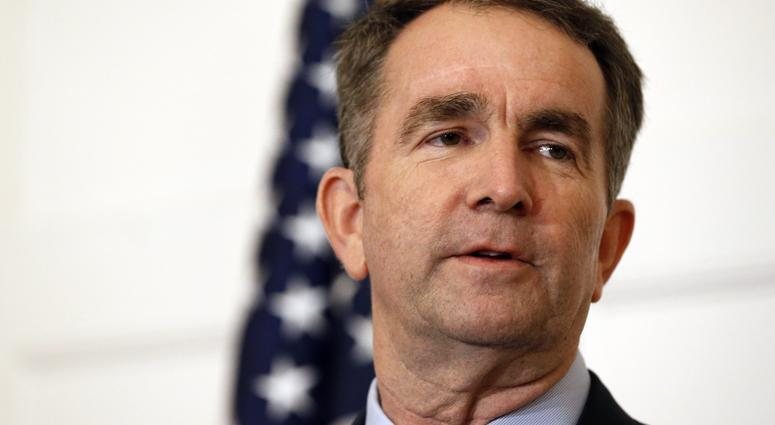Virginia Gov. Ralph Northam speaks during a news conference