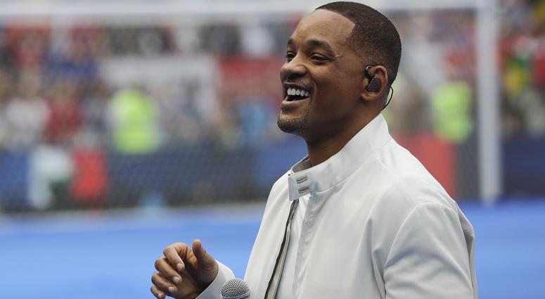singer and actor Will Smith performs